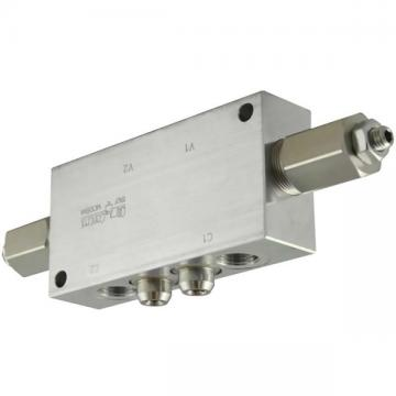 NG6 (cetop3) solenoid valve 4/3 center A-B to T