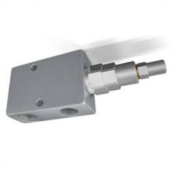 Stackable solenoid valve 4/3 center A-B to T, lateral ports