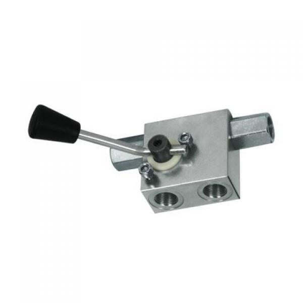 NG6 (cetop3) solenoid valve 4/3 center P to T